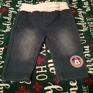 NB jeans by Disney Baby NWOT.